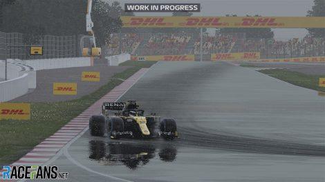 Capture d'écran F1 2020