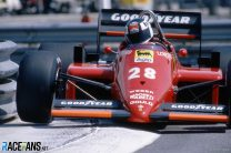 Stefan Johansson, Ferrari, Monaco, 1985