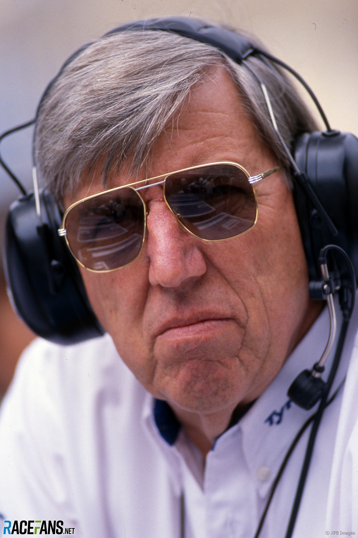 Ken Tyrrell, Monaco, 1990