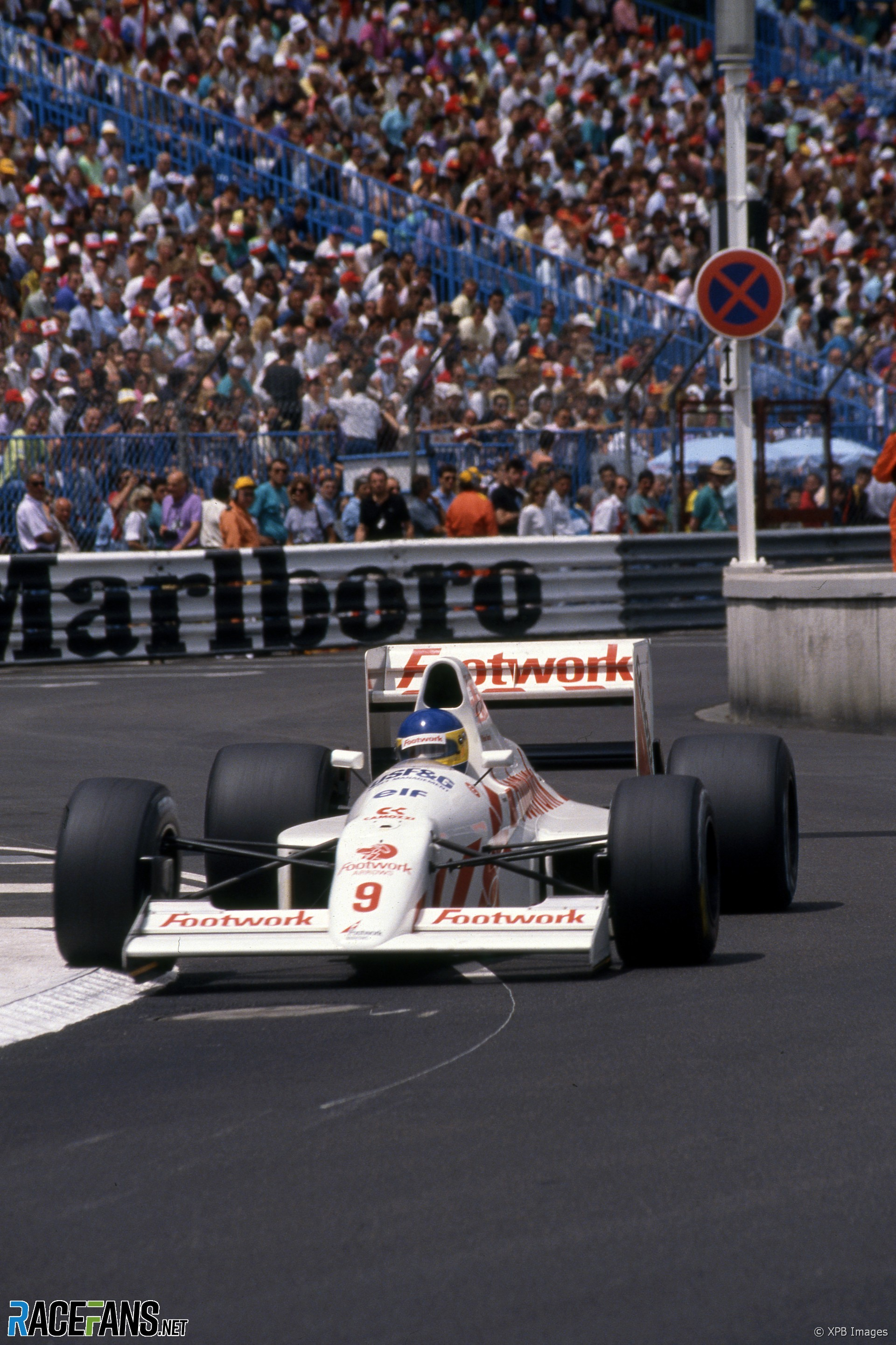 Michele Alboreto, Arrows, Monaco, 1990