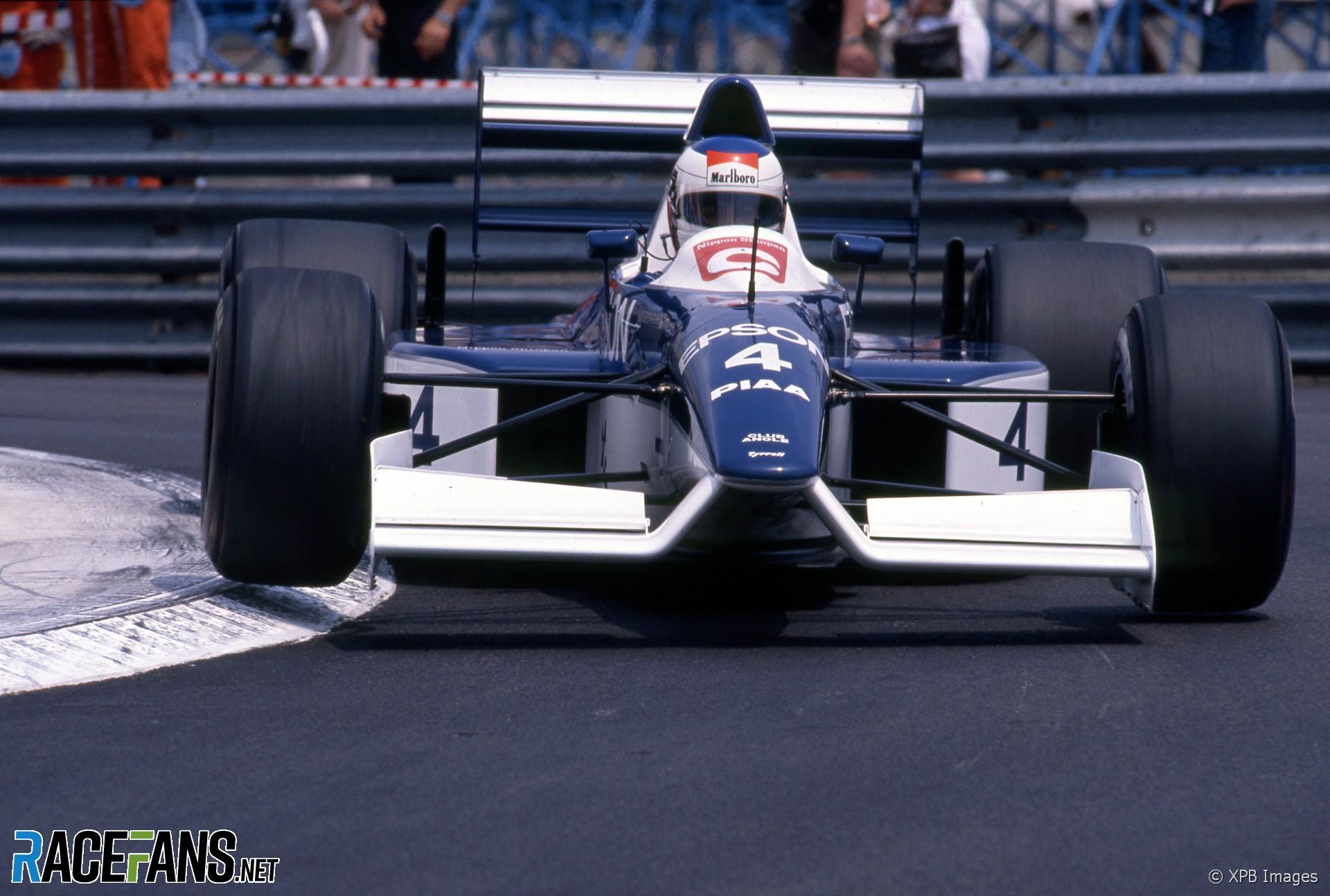 Jean Alesi, Tyrrell, Monaco, 1990
