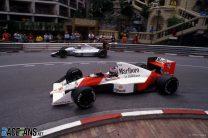 Gerhard Berger, Roberto Moreno, Monaco, 1990
