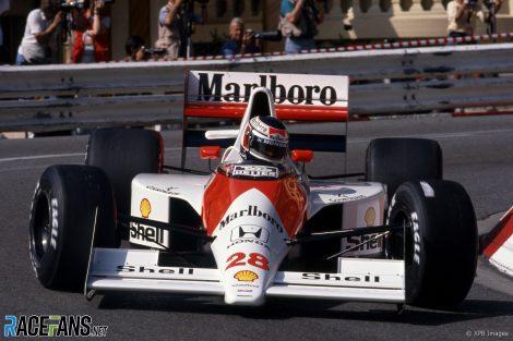 Gerhard Berger, McLaren, Monaco, 1990