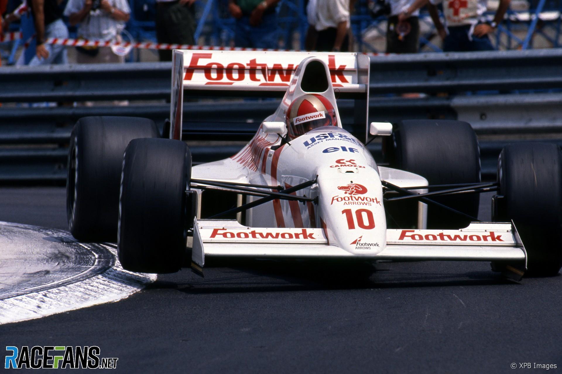Alex Caffi, Arrows, Monaco, 1990