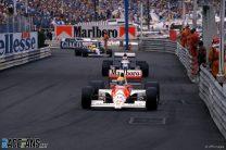 Ayrton Senna, Jean Alesi, Riccardo Patrese, Monaco, 1990