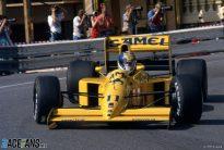 Derek Warwick, Lotus, Monaco, 1990