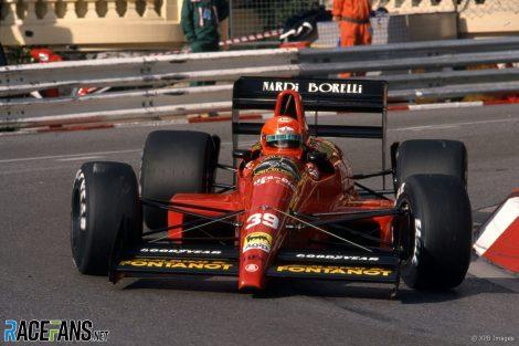 Bruno Giacomelli, Life, Monaco, 1990