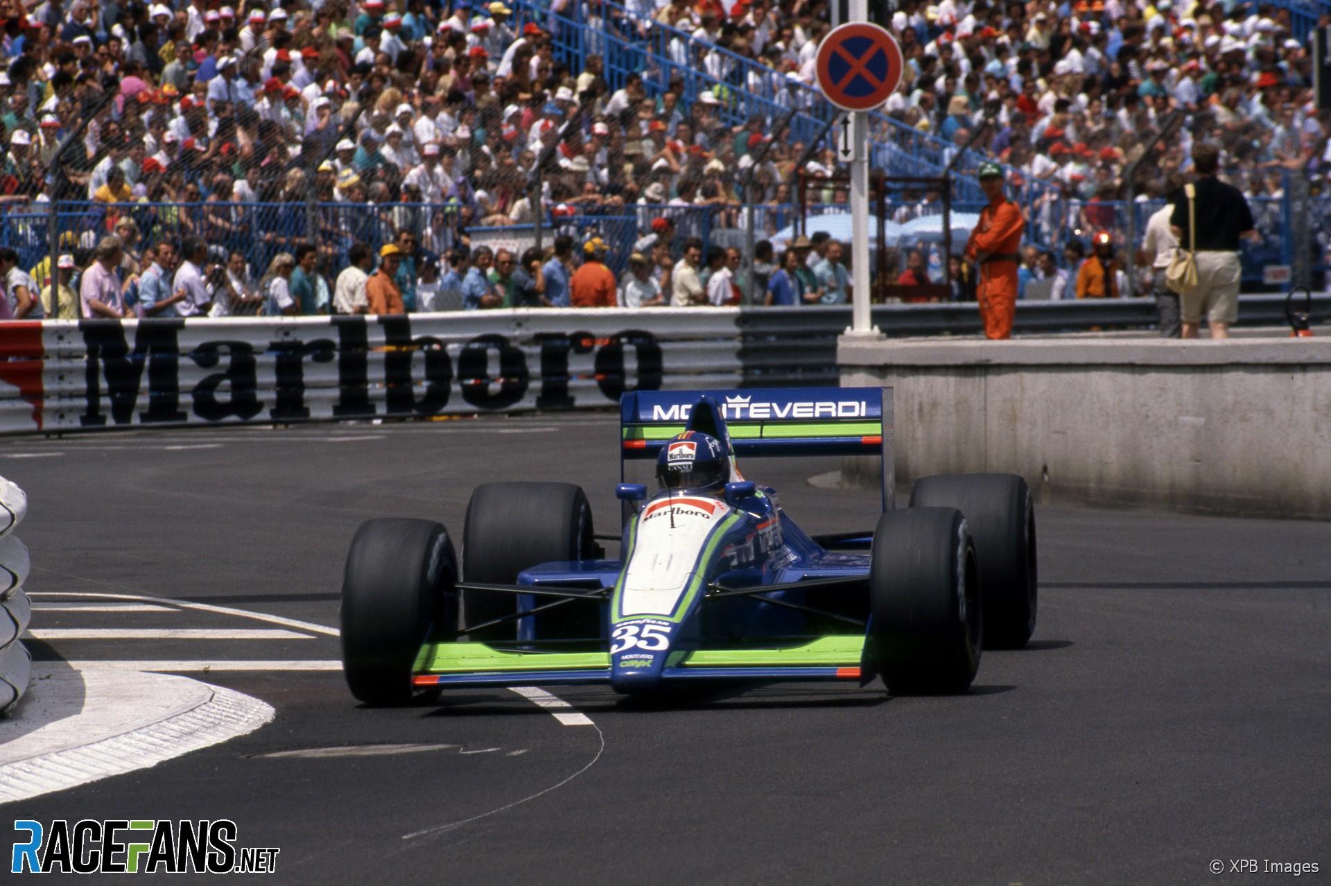 Gregor Foitek, Onyx, Monaco, 1990