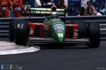 Alessandro Nannini, Benetton, Monaco, 1990