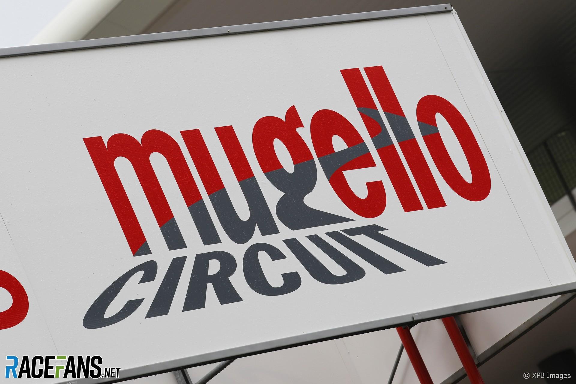 Mugello circuit logo, 2012