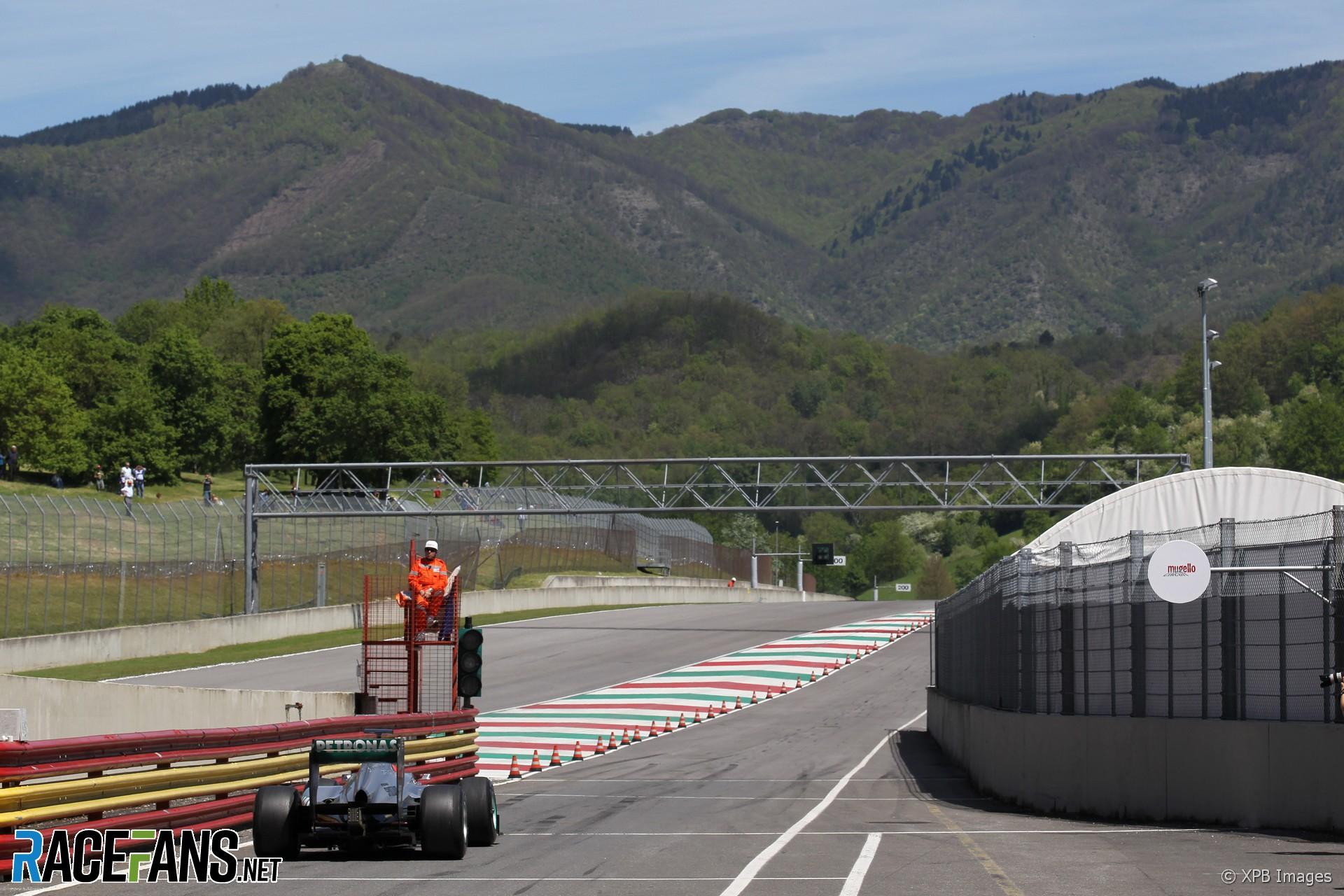 Michael Schumacher, Mercedes, Mugello, 2012