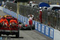 Ralf Schumacher, Toyota, Indianapolis, 2005