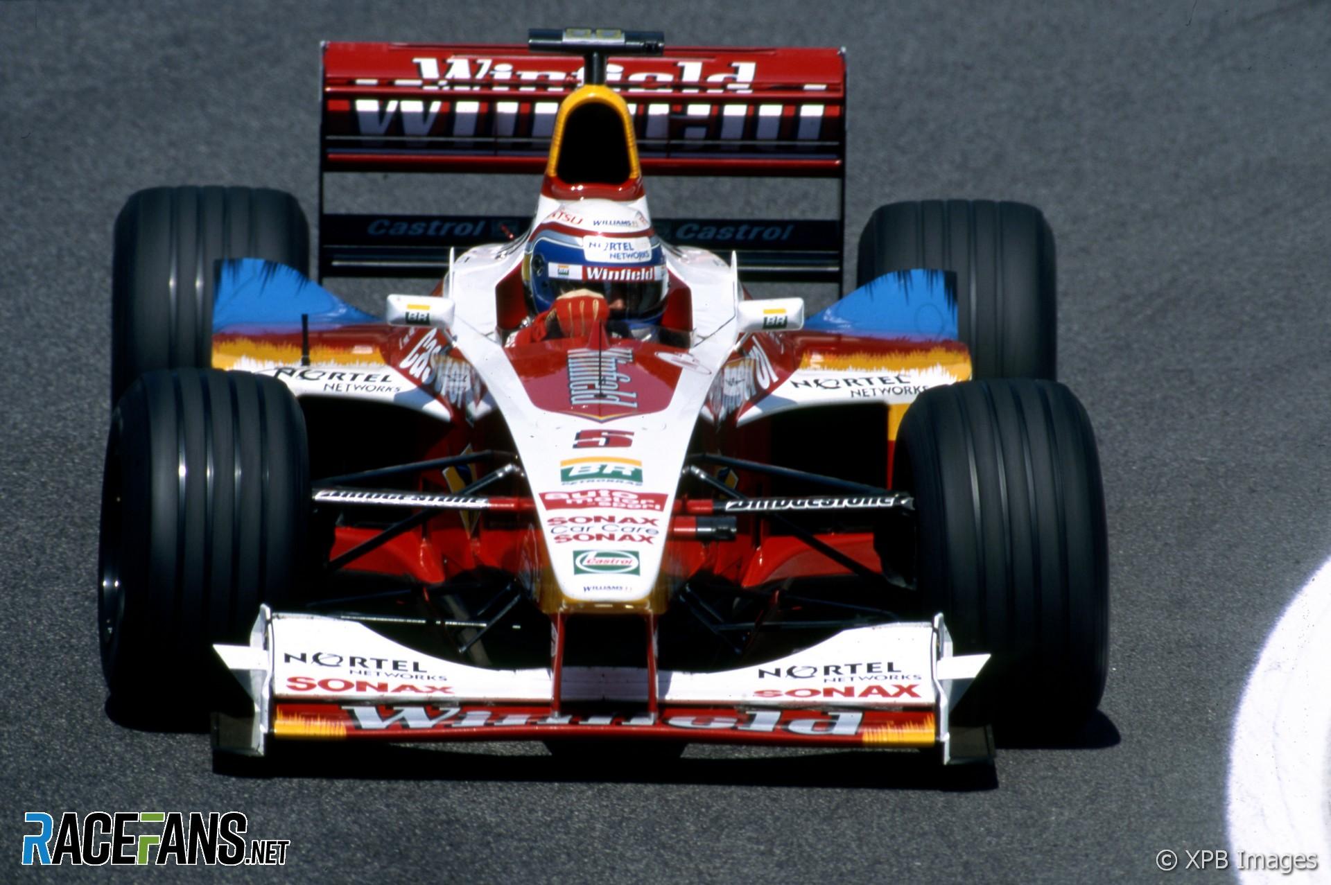 Alex Zanardi, Ganassi, Williams, Imola, 1999