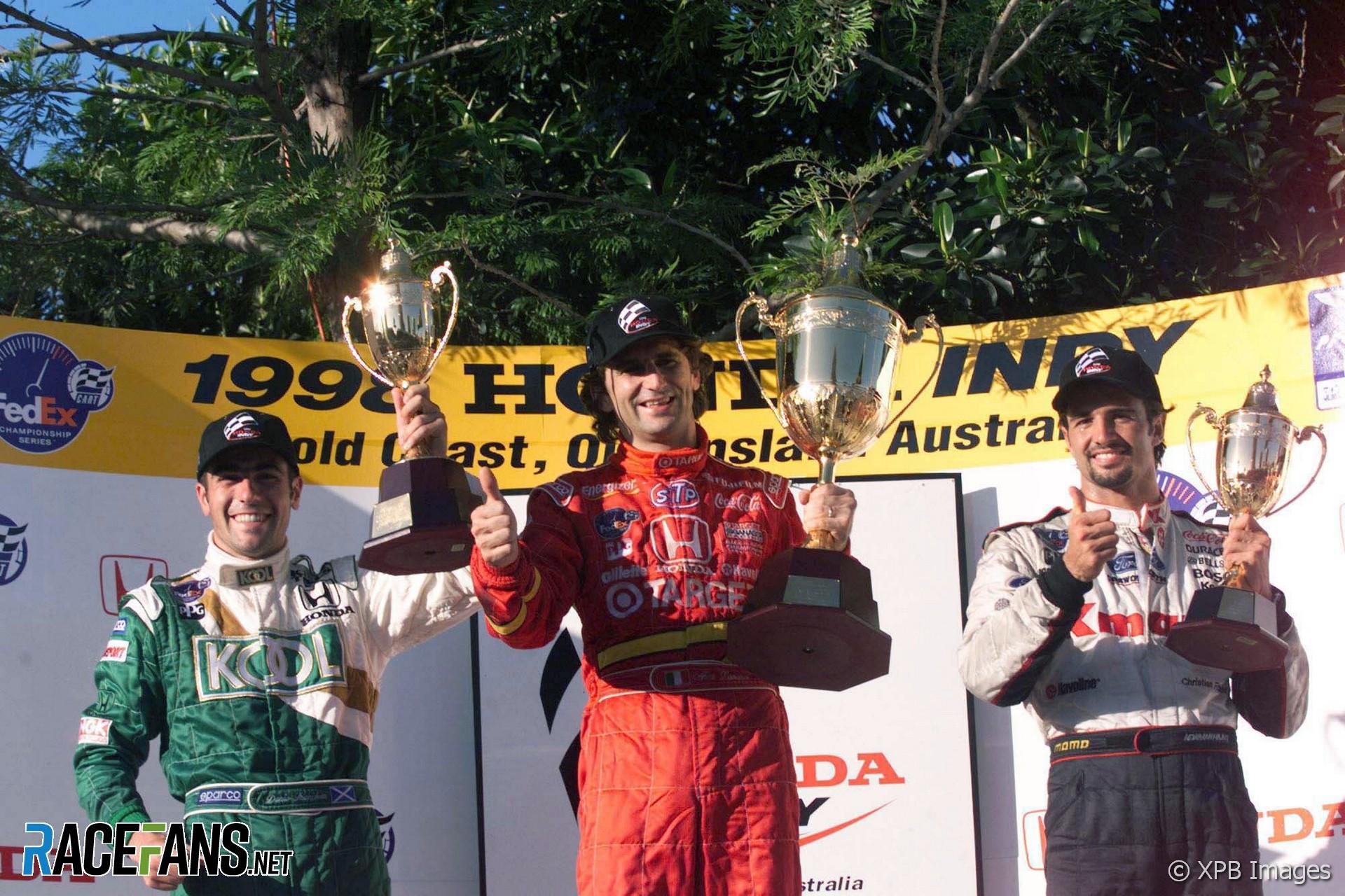 Alex Zanardi, Ganassi, IndyCar, Surfers Paradise, 1998
