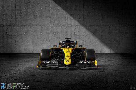 Renault with #WeRaceAsOne branding
