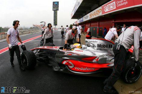 Lewis Hamilton, McLaren, Circuit de Catalunya, 2008