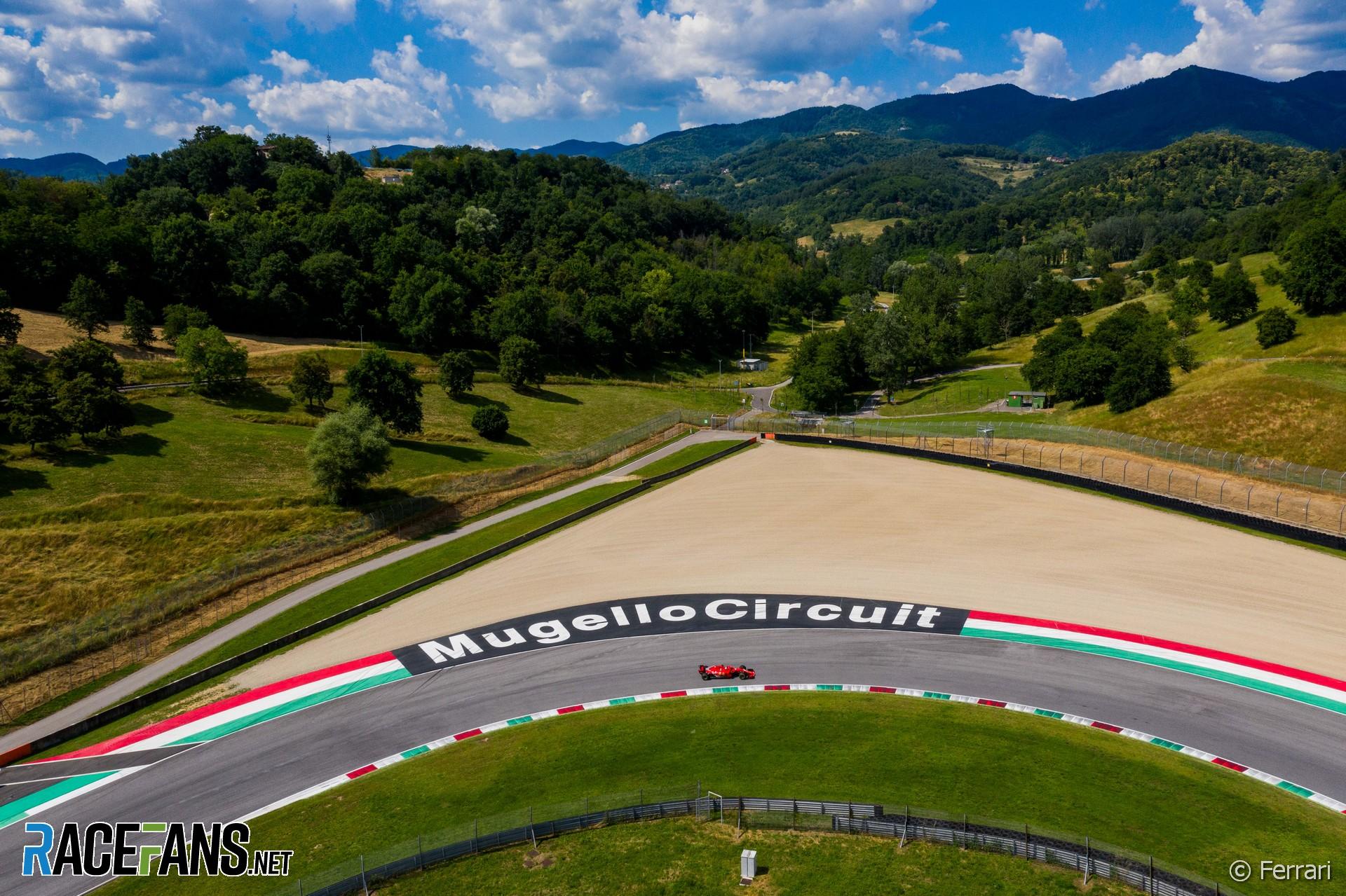 Ferrari, Mugello, 2020