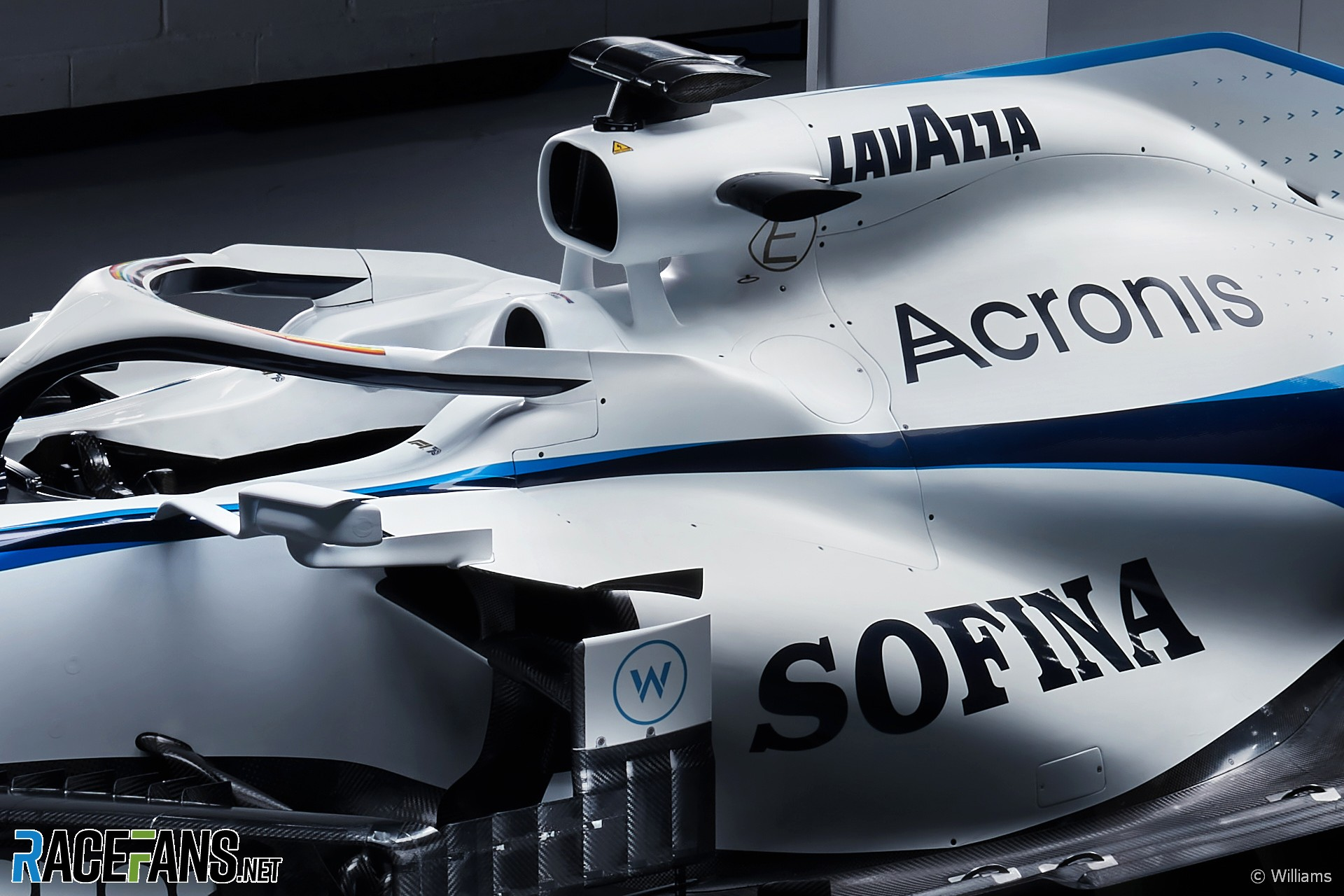 New Williams livery, 2020