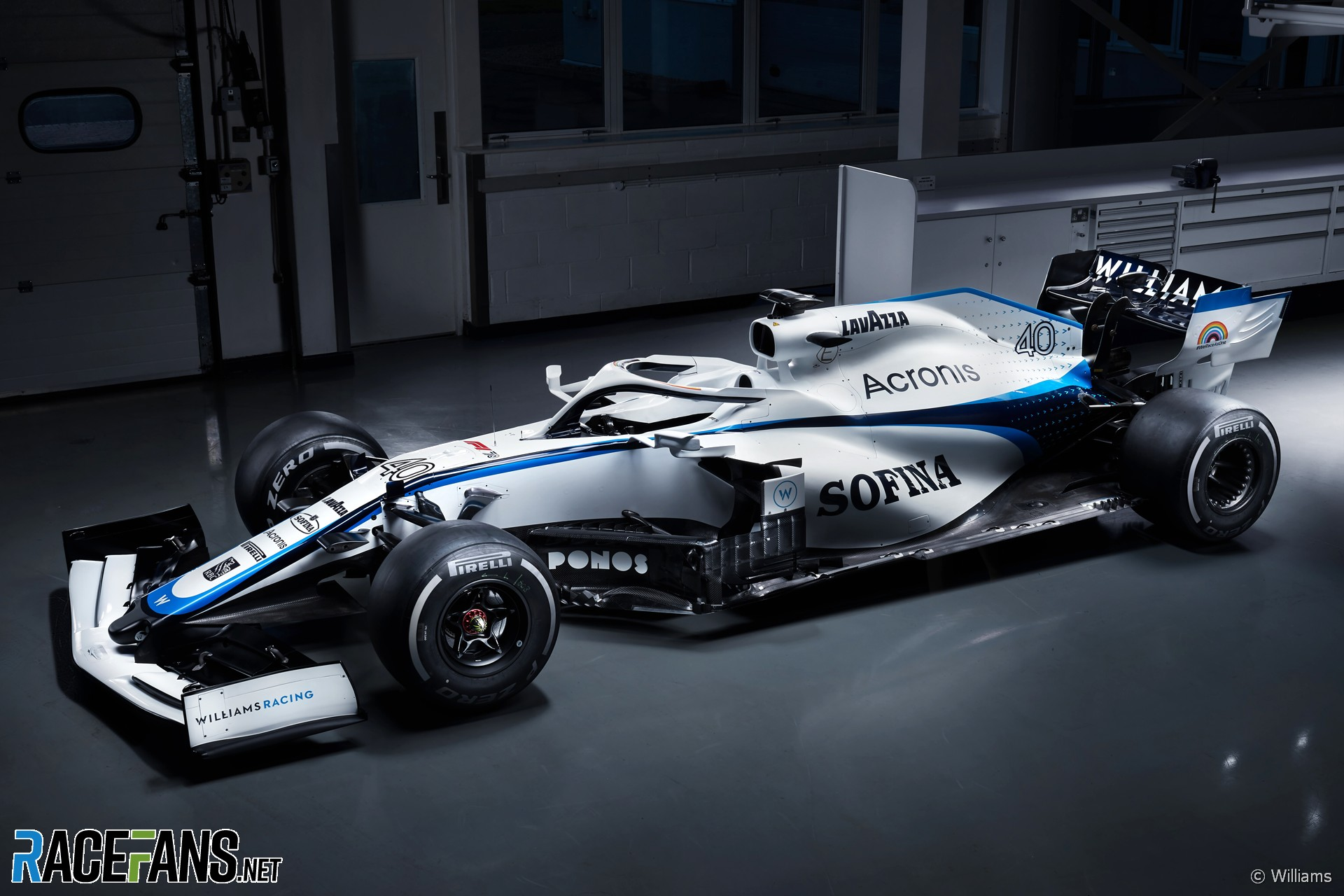 F1 Williams Reveals New 2020 Car Livery After Split From Rokit Racefans