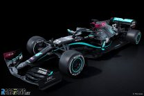 Valtteri Bottas's Mercedes W11 with new livery, 2020