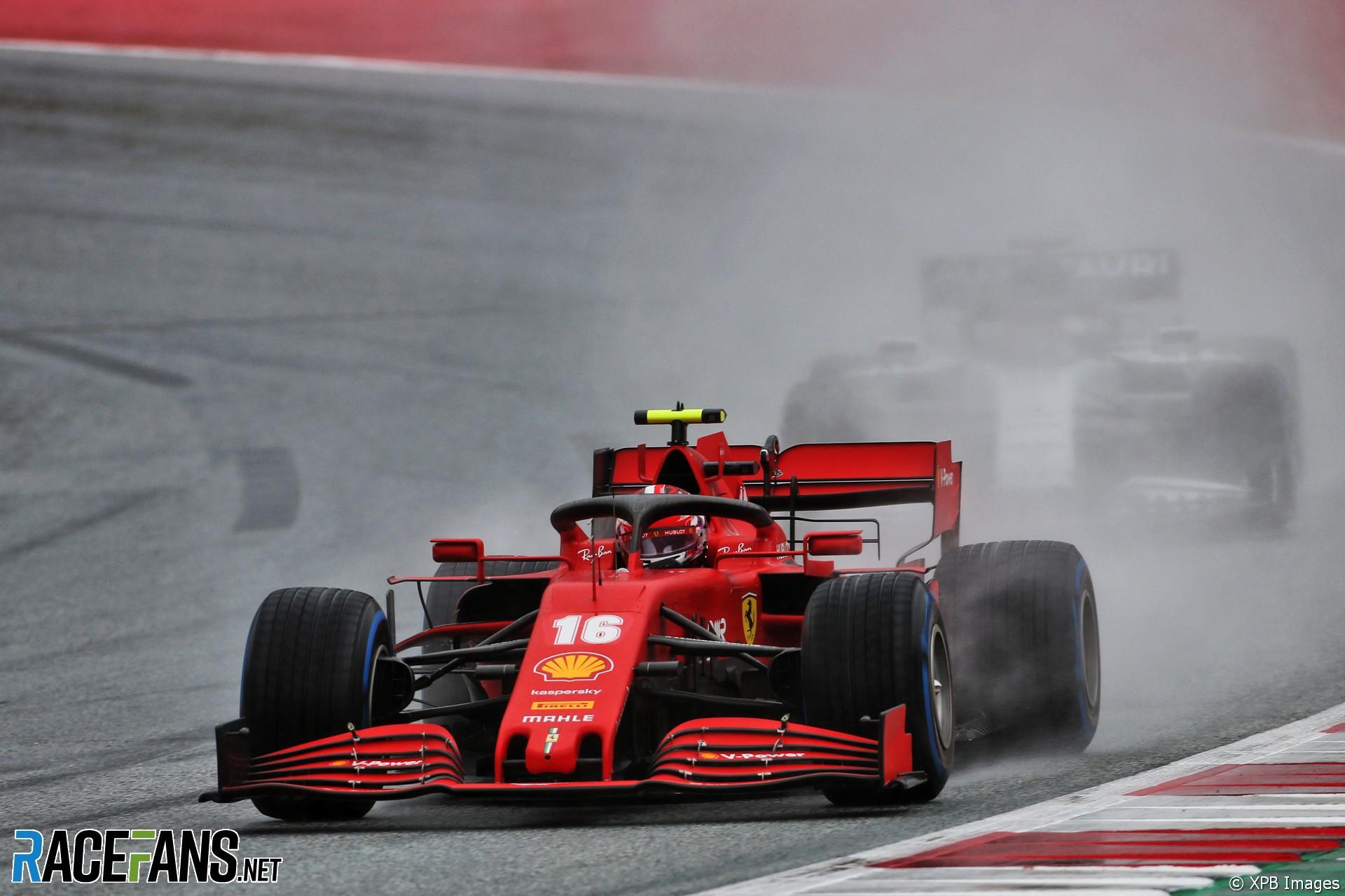 Charles Leclerc, Ferrari, Red Bull Ring, 2020