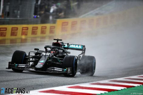 Lewis Hamilton, Mercedes, Red Bull Ring, 2020