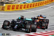 Hamilton wins as Bottas passes Verstappen for Mercedes one-two