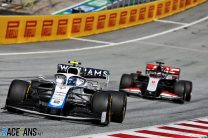 Nicholas Latifi, Williams, Red Bull Ring, 2020