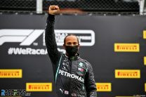 Hamilton fighting for more than the title as he claims first win of 2020