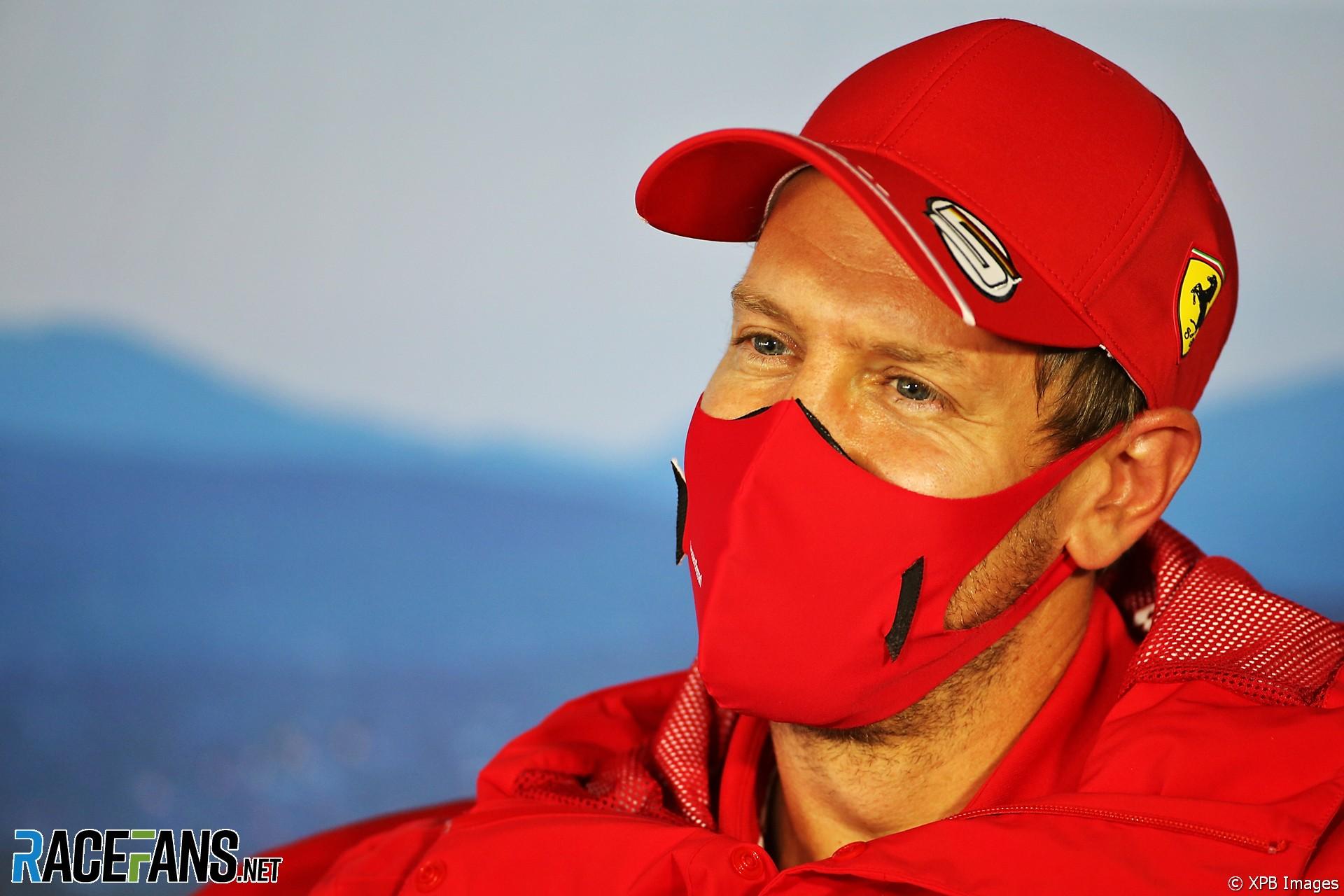 Sebastian Vettel, Ferrari, Hungaroring, 2020