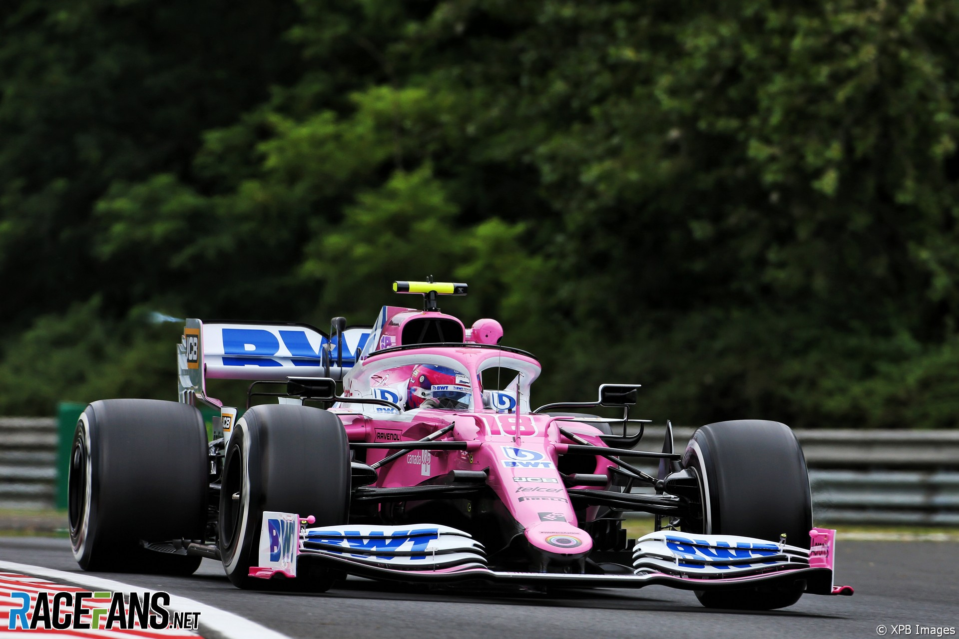 Lance Stroll, Racing Point, Hungaroring, 2020