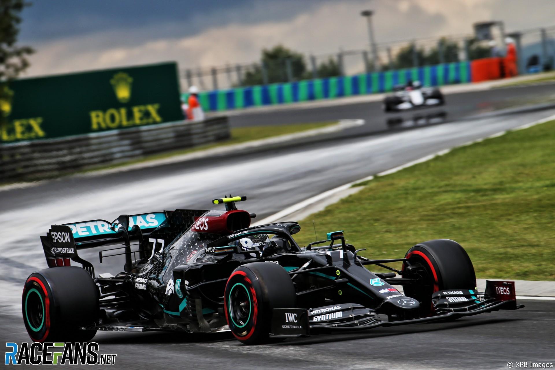 Valtteri Bottas, Mercedes, Hungaroring, 2020