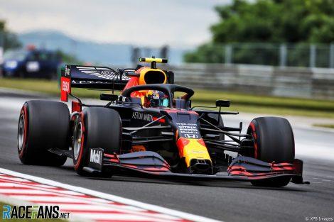Alexander Albon, Red Bull, Hungaroring, 2020