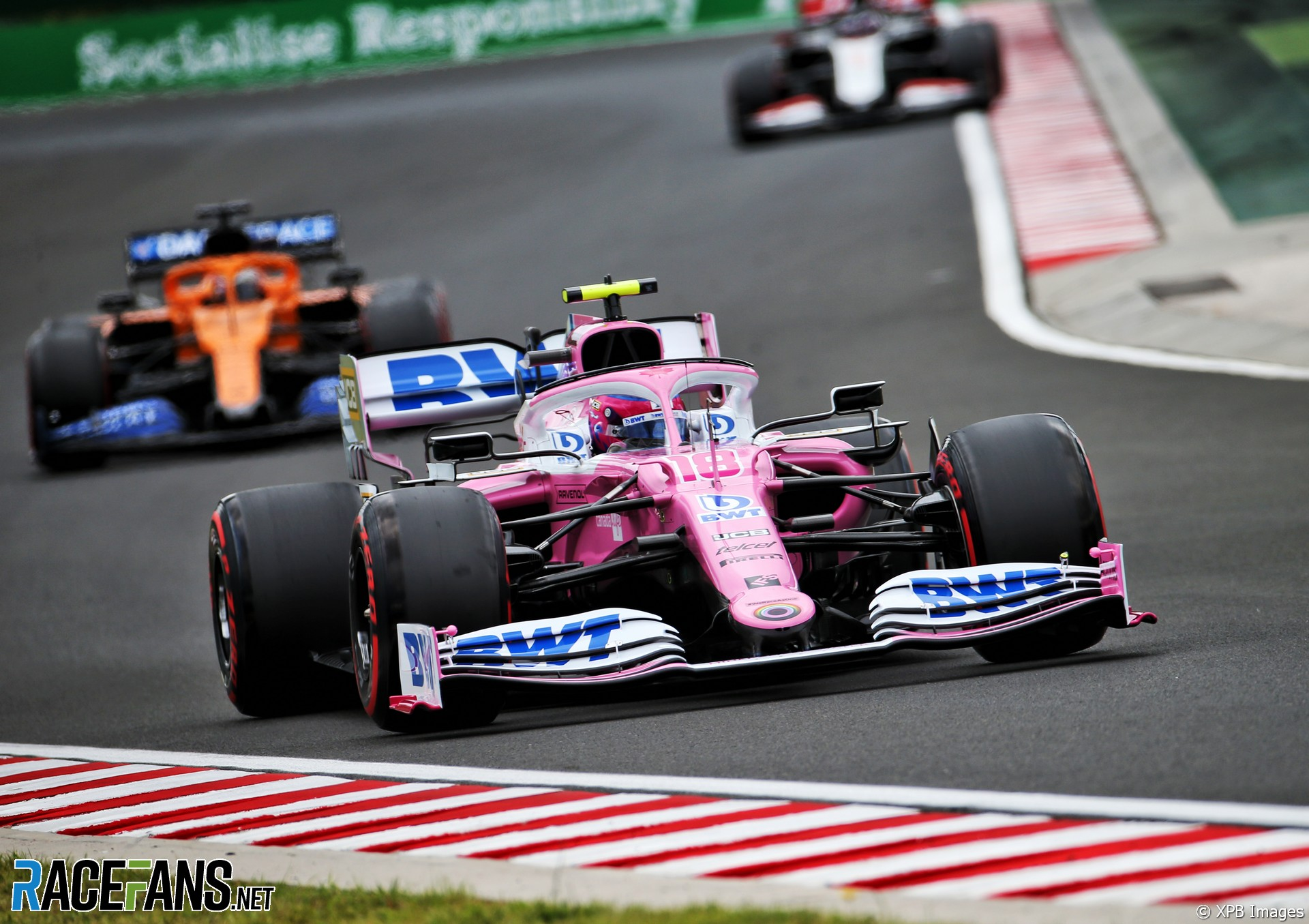 Lance Stroll, Racing Point, Hungaroring, 2020