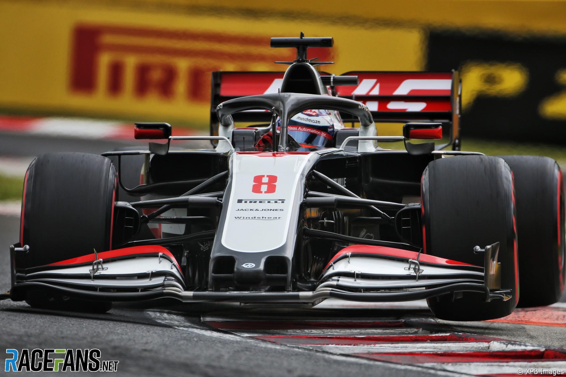 Romain Grosjean, Haas, Hungaroring, 2020