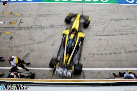 Esteban Ocon, Renault, Hungaroring, 2020