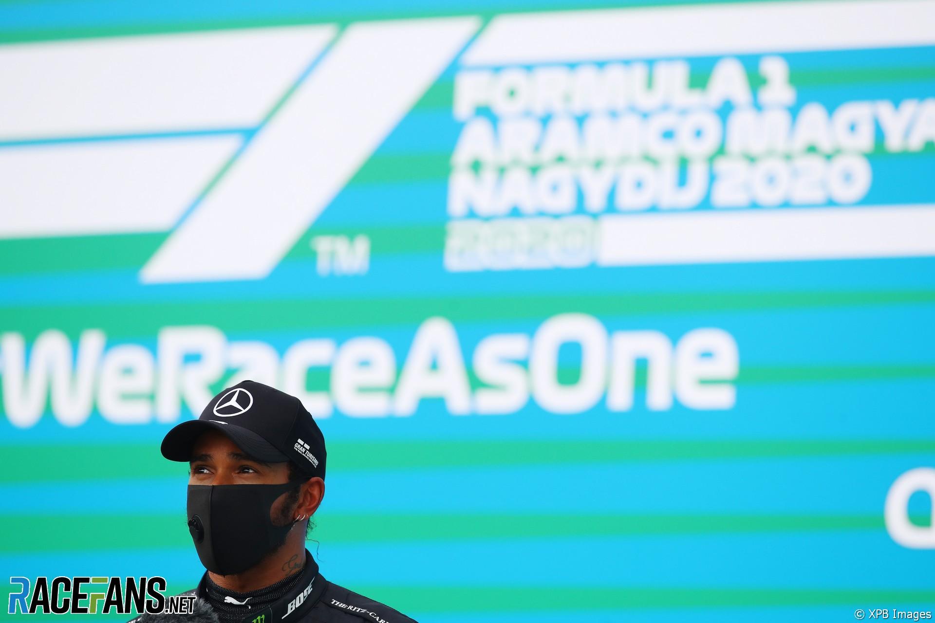 Lewis Hamilton, Mercedes, Hungaroring, 2020