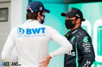 Lance Stroll, Lewis Hamilton, Hungaroring, 2020