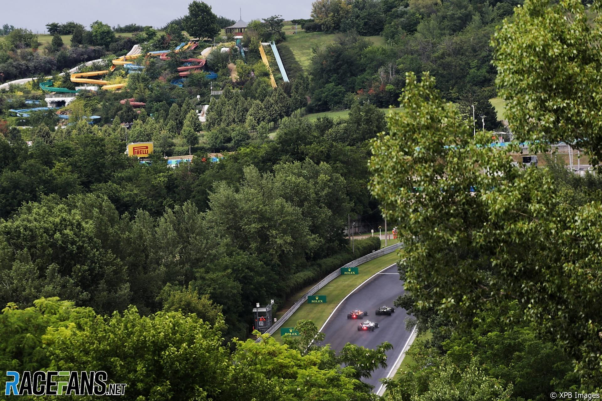 Nicholas Latifi, Williams, Hungaroring, 2020