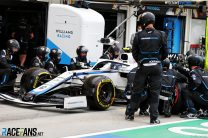 Latifi pit stop penalty prompts Williams to add new failsafe