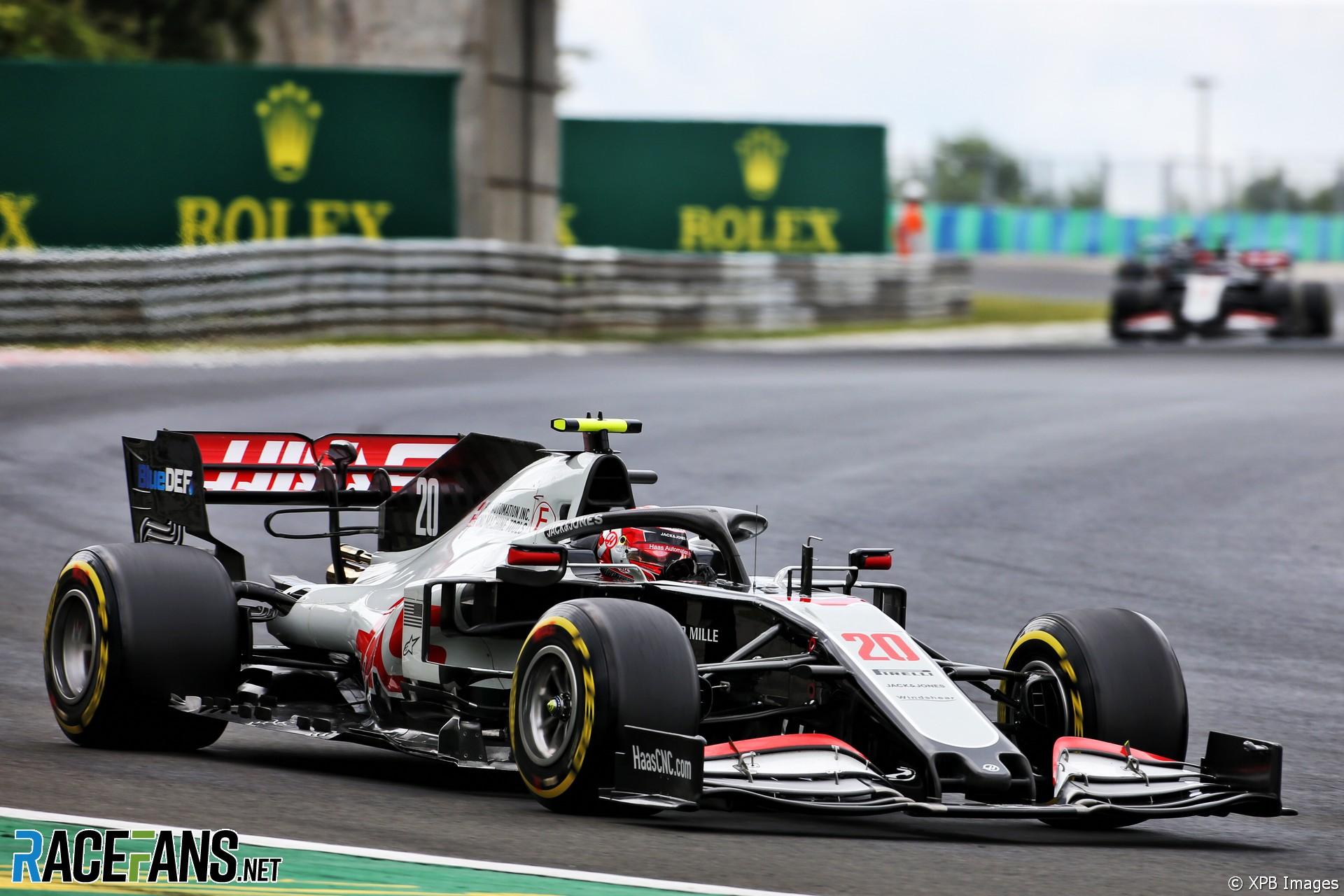 Kevin Magnussen, Haas, Hungaroring, 2020