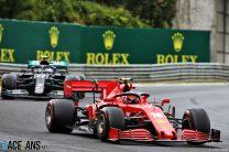 Charles Leclerc, Ferrari, Hungaroring, 2020