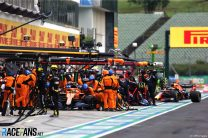 Lando Norris, McLaren, Hungaroring, 2020