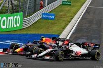 Alexander Albon, Romain Grosjean, Hungaroring, 2020