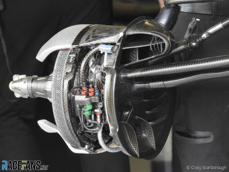 2019 Mercedes brake duct