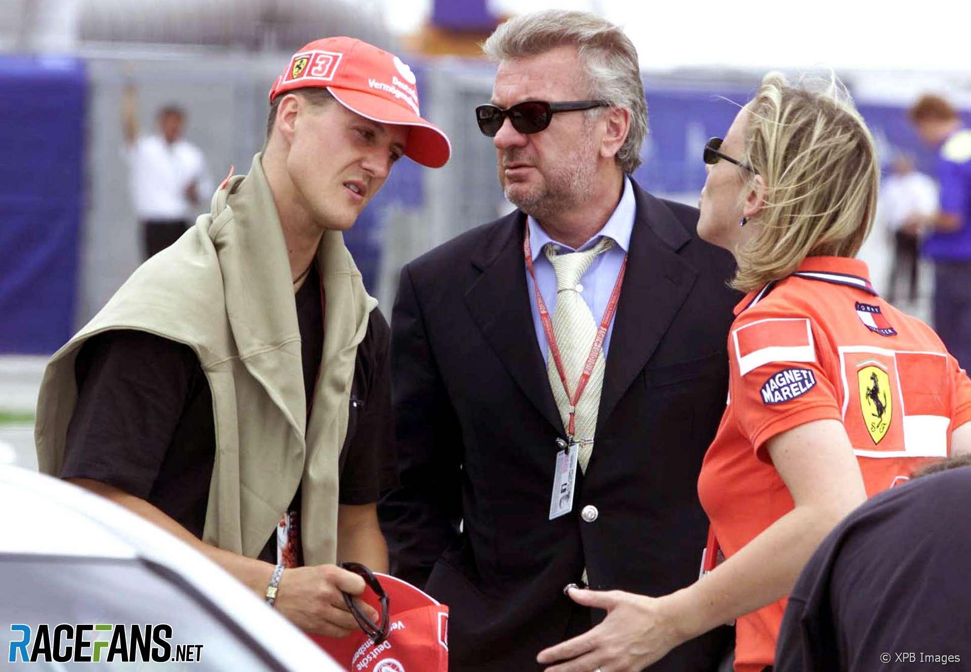 Michael Schumacher Im Krankenbett