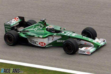 Eddie Irvine, Jaguar, A1-Ring, 2000