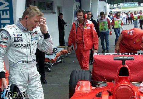 Mika Hakkinen, A1-Ring, 2000