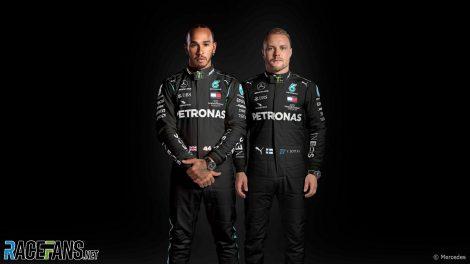 Lewis Hamilton, Valtteri Bottas, Mercedes, 2020