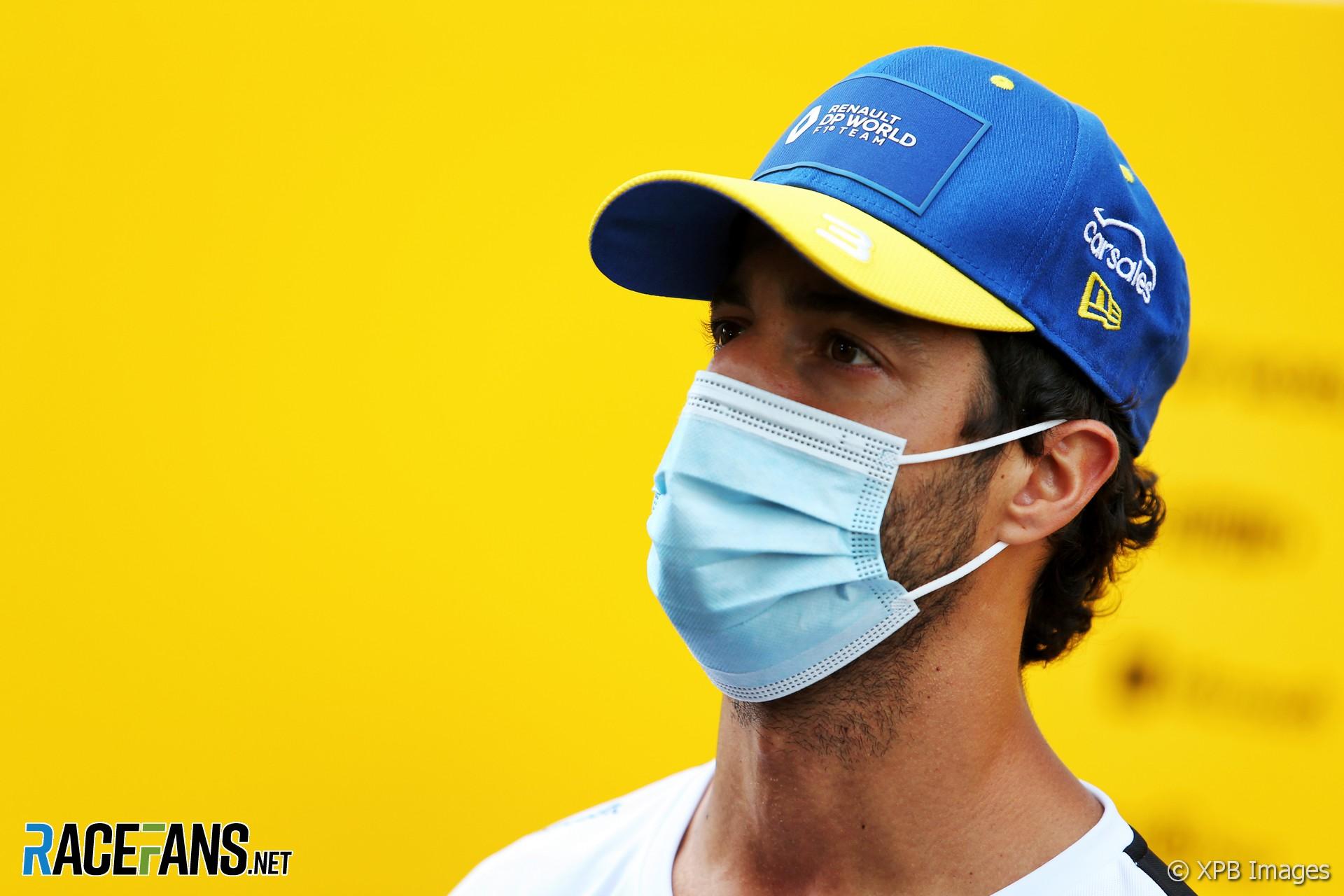 Daniel Ricciardo, Renault, Red Bull Ring, 2020